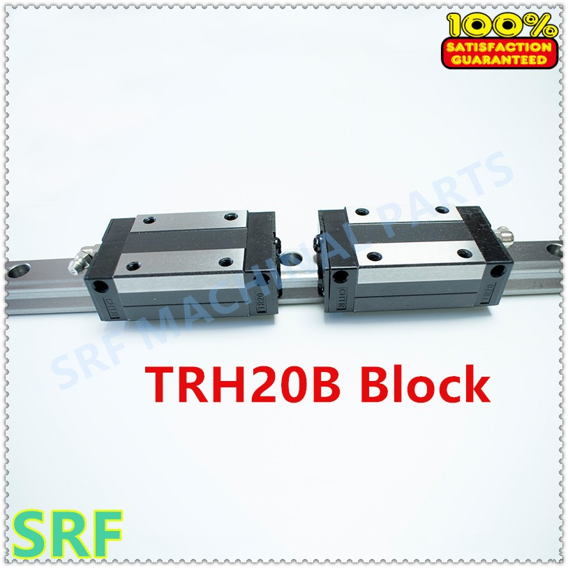 High Precision 6pcs Linear guide 20mm TRH20 L=1500mm Linear Rail+8pcs TRH20B Slider block bearing linear guide rail for cnc high precision low manufacturer price 1pc trh20 length 1800mm linear guide rail linear guideway for cnc machiner