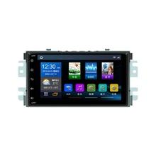 4 ядра 1024*600 Android 6,0 Автомобильная dvd-навигационная система плеер Deckless стерео для KIA Soul 2009 2010 головного устройства радио Wi Fi 3g