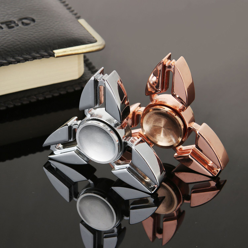High Quality Metal Fidge Spinner EDC Hand Spinner Anti Stress Toys for Autism and ADHD Kids