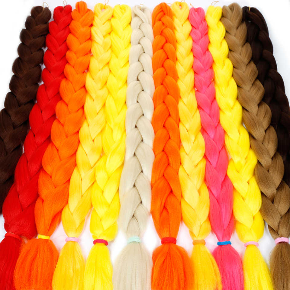 c3636dcd0cb LIMPOPO 165 grams of 82 - inch big braid. women can choose from yellow,