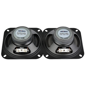 Image 3 - AIYIMA 2Pcs 4Inch 2Ohm 10W Portable Audio Speaker Subwoofer DIY Home Theater Sound System For Bluetooth Speaker Loudspeaker