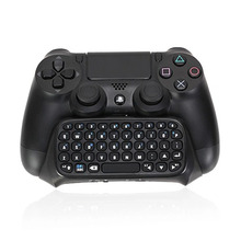 SQDeal Mini Bluetooth Wireless Chatpad Message Game Controller Keyboard for Sony Playstation 4 PS4 Gamepad Controller – Black