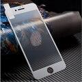 Curva 3d cobertura completa colorful matte 7 além de proteção de tela de vidro temperado para apple iphone 7 dureza 9 h filme à prova de explosão