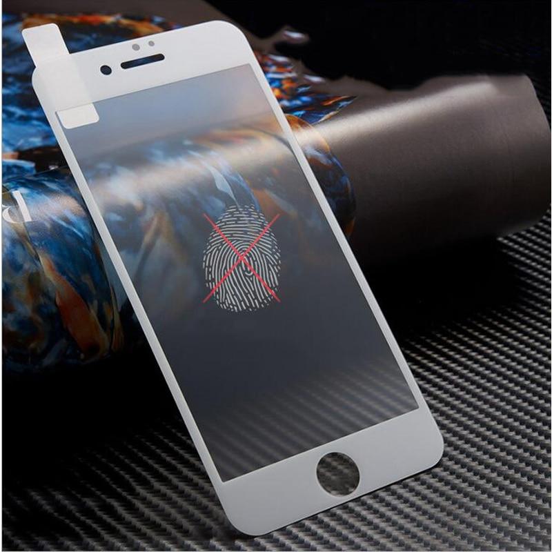 Матовое полное покрытие из закаленного стекла для iPhone 11 Pro Max X XS XR 6 6S 7 8Plus Защита экрана 9H Твердость матовая Защитная пленка