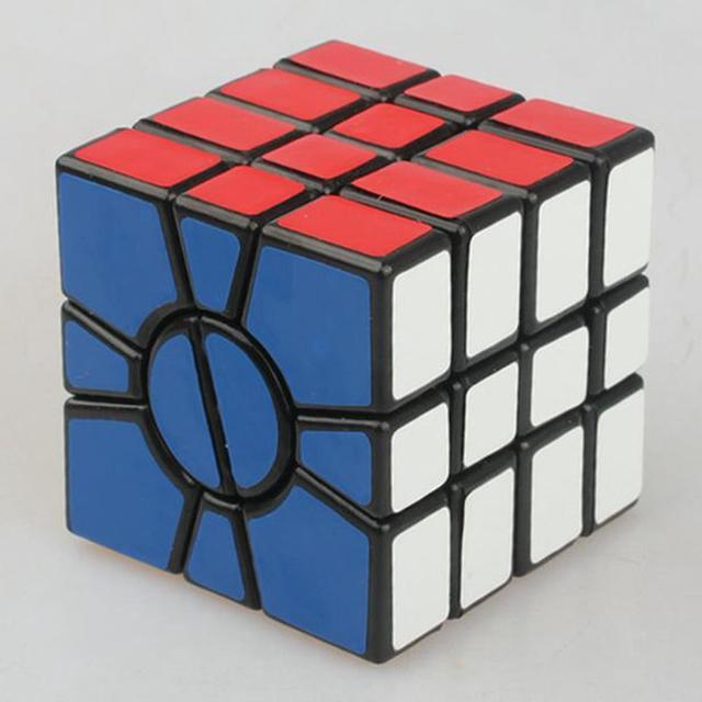 4-en Capas 55mm Cuadrado Estupendo SSQ1 MF8 Cubo Mágico Speed Puzzle Cubo Mágico Juguetes de Los Niños