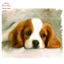 Diamond Embroidery,square,Diamond dog Painting,Cross