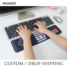 Keyboard Wrist Rest Pad and Mouse Wrist Rest Support Mouse Pad Durable Comfortable Lightweight Ergonomic Support mat цена и фото
