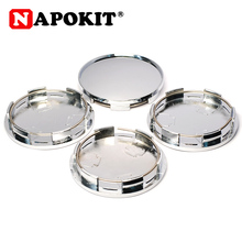 4PCS/lot 68MM ( 62mm 6Pin ) for 65mm Logo Car Wheel Center Hub Caps Hubcap Cover Car Styling Rim Accessories Chrome Silver/Black