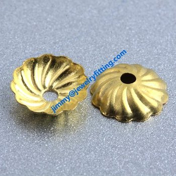 50000pcs jewelry fingdings brass filigree  bead cap  caps for beads shipping free  caps for 8mm beads