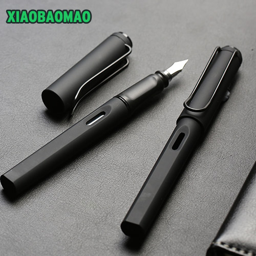 Image 3 - High grade business Fountain Pen Silicone Grip Extra Fine Nib (0.38 mm / 0.5mm) Black Body-in Fountain Pens from Office & School Supplies on AliExpress