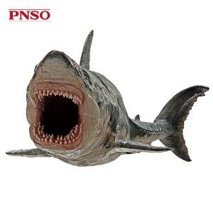 Image 5 - PNSO Ancient Marine Llife Megalodon Movie The Meg archetype 32cm 1:35