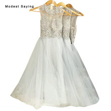 Real Sexy See Through Silver A-Line Lace Bridesmaid Dresses 2017 Formal Long Party Prom Maid of Honor Gowns gown demoiselle JE84