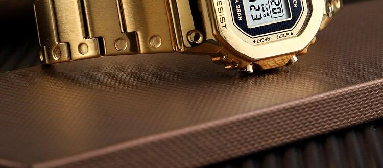 à prova dwaterproof água casual aço inoxidável relógio masculino