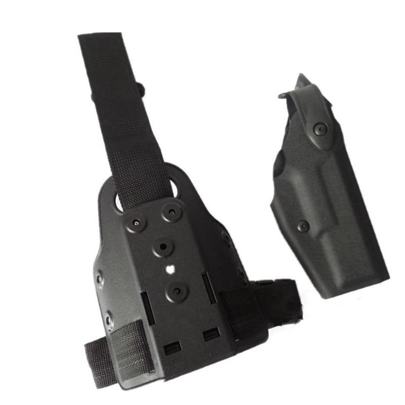 Тактический Охота пистолет ног кобура Глок 17 19 22 23 31 32 Военная Униформа Airsoft пистолет Глок бедра Кобура правой стороны пользователей