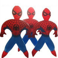 Novelty Spider-Man Superman Spider Man PVC Inflatable cartoon toys children games Kids birthday gifts, air-filled Height 35cm