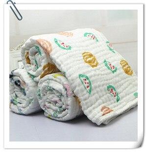 camadas cobertores 100% seersucker musselina algodão com