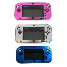 עבור Nintendo Wii U VU מתכת מקרה אנטי הלם קשיח מגן כיסוי פלסטיק אלומיניום מתכת מעטפת מקרה תיבה