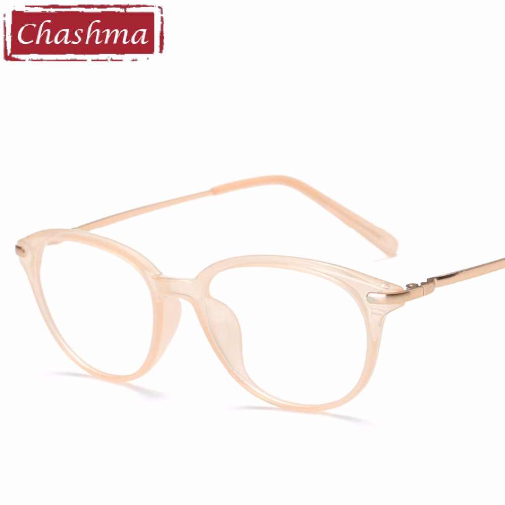 577088a5bec ... Chashma Brand Women Eyewear Cat Eyes Glasses Frames Fashion Stylish  Fresh Optical Eyeglasses Female ...