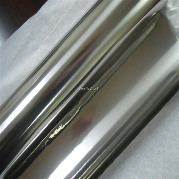 Mirror Titanium foil strip Gr2 Grade2 0.01mm thick Thin titanium Plate Sheet 5meters ,free shipping gr1 titanium metal foil grade1 titanium strip 0 07mm 303mm