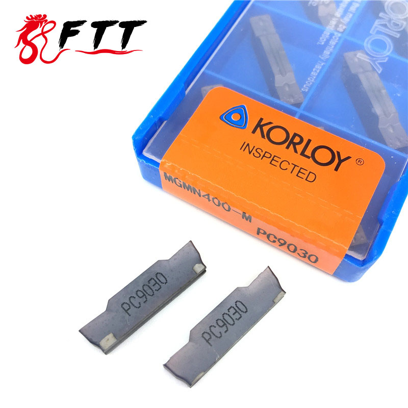 10PCS MGMN400 M PC9030 grooving carbide inserts MGMN 400 lathe cutter turning tool Parting and grooving tool Parting off high quality external parting and grooving cutter grooving tools holder qefd2525l17 qefd2525r17 for carbide inserts ztfd0303