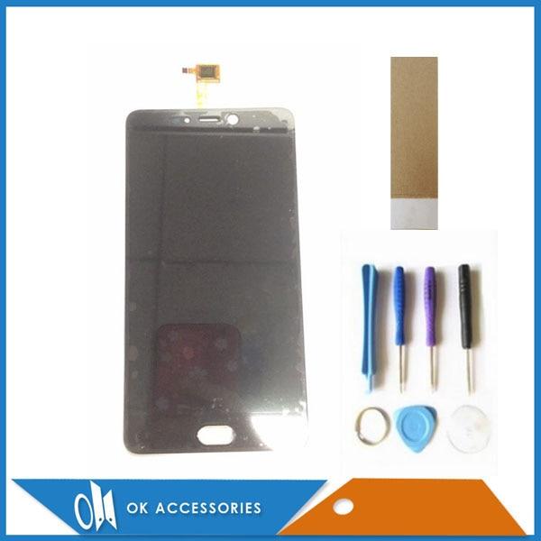Couleur blanc noir pour Leagoo T5 écran LCD avec écran tactile numériseur assemblée remplacement avec outils bande 1 pc/Lot