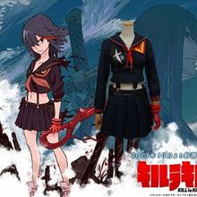 Статистика ла убить Matoi Ryuuko потому школьная форма косплей костюм хеллоуин костюм для женщин