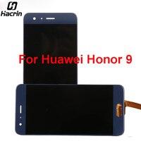 Hacrin Huawei Honor 9 Için 5.15 inç Dokunmatik Ekran Paneli Ile 100% Test LCD Ekran Digitizer Meclisi Değiştirme + Onarım araçları