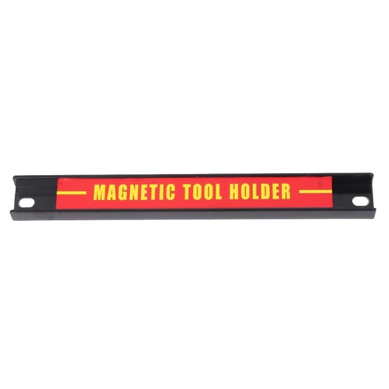 """"""" 12"""" 1"""" магнитный держатель для инструментов органайзер для бара стеллаж для хранения гаечный ключ плоскогубцы нож - Цвет: 8 inch"""