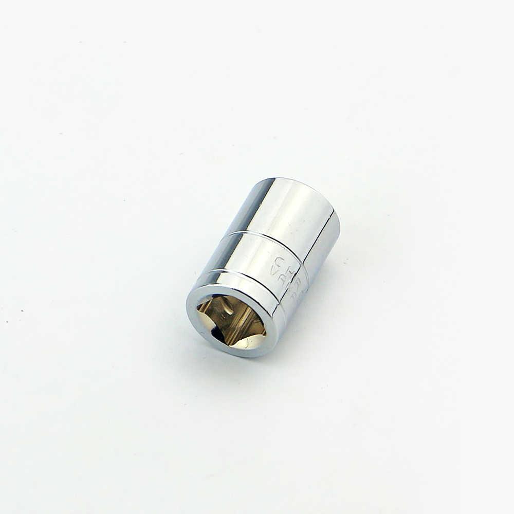 """Xkai 1/4 """"10mm chave de soquete cabeça métrica conjunto soquete final kit parafuso sextavado allen cabeça chave torque manga cabeça"""