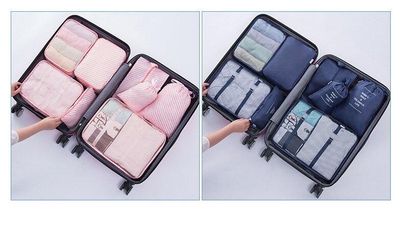 travel bag set 18