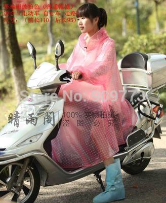 slicker poncho rain raincoat waterproof mirror dress font b jacket b font Female Translucent Transparent wave