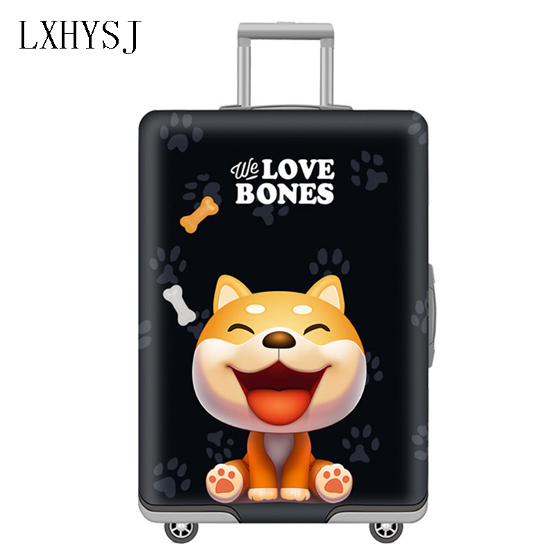 LXHYSJ Elasticity Luggage Cover Luggage Protective Covers Suitable For 19-32 Inch Suitcase Case Travel Accessories