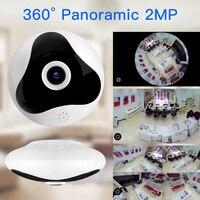 SDETER 1080P 960P 360 Degree CCTV IP Camera Network Home Security Camera WIFI Panoramic IR Night