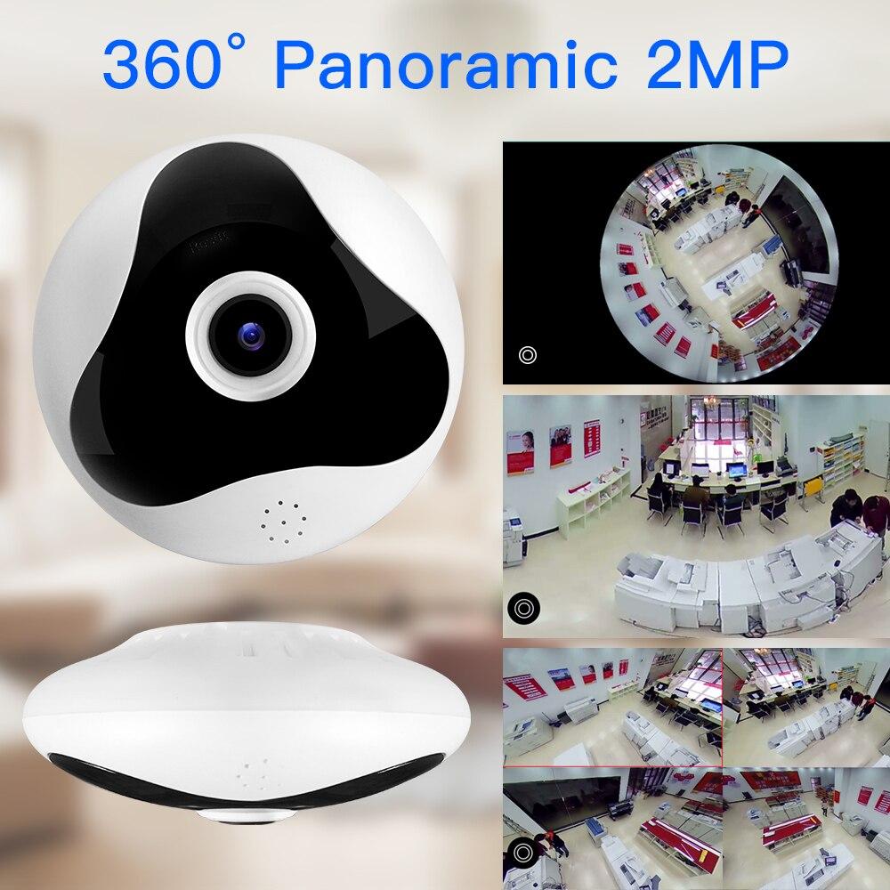 SDETER 1080 P 960 P 360 Degrés CCTV IP Caméra Réseau Caméra de Sécurité À Domicile WIFI Panoramique IR de Vision Nocturne de Surveillance caméra IP