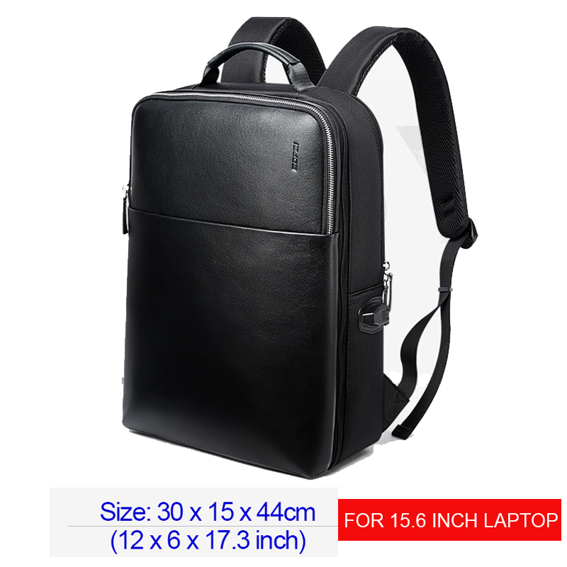 BOPAI Detachable 2 in 1 Laptop Backpack USB External Charge Shoulders Anti theft Backpack Waterproof Backpack Men for 15.6 inch - 6