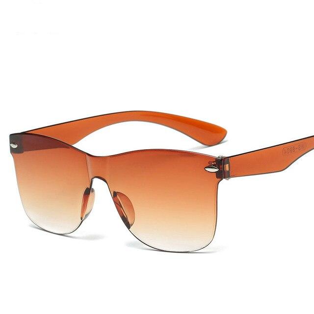 1a1e230837c New Fashion Women Sunglasses Wholesale Ladies Colorful Sun Glasses Mens  Vintage UV400 Oversize Eyewear Female Outdoor Goggle