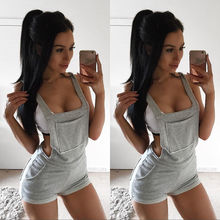Fashion Women Ladies Summer Clubwear Shorts Playsuit Bodycon Party Jumpsuit Romper Overalls Trousers