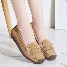 หนังนิ่มหนัง Loafers ผู้หญิง x27s Slip \ x2don รองเท้าสบายรองเท้าผู้หญิงรองเท้าผ้าใบรองเท้าผู้หญิงรองเท้า vrouw