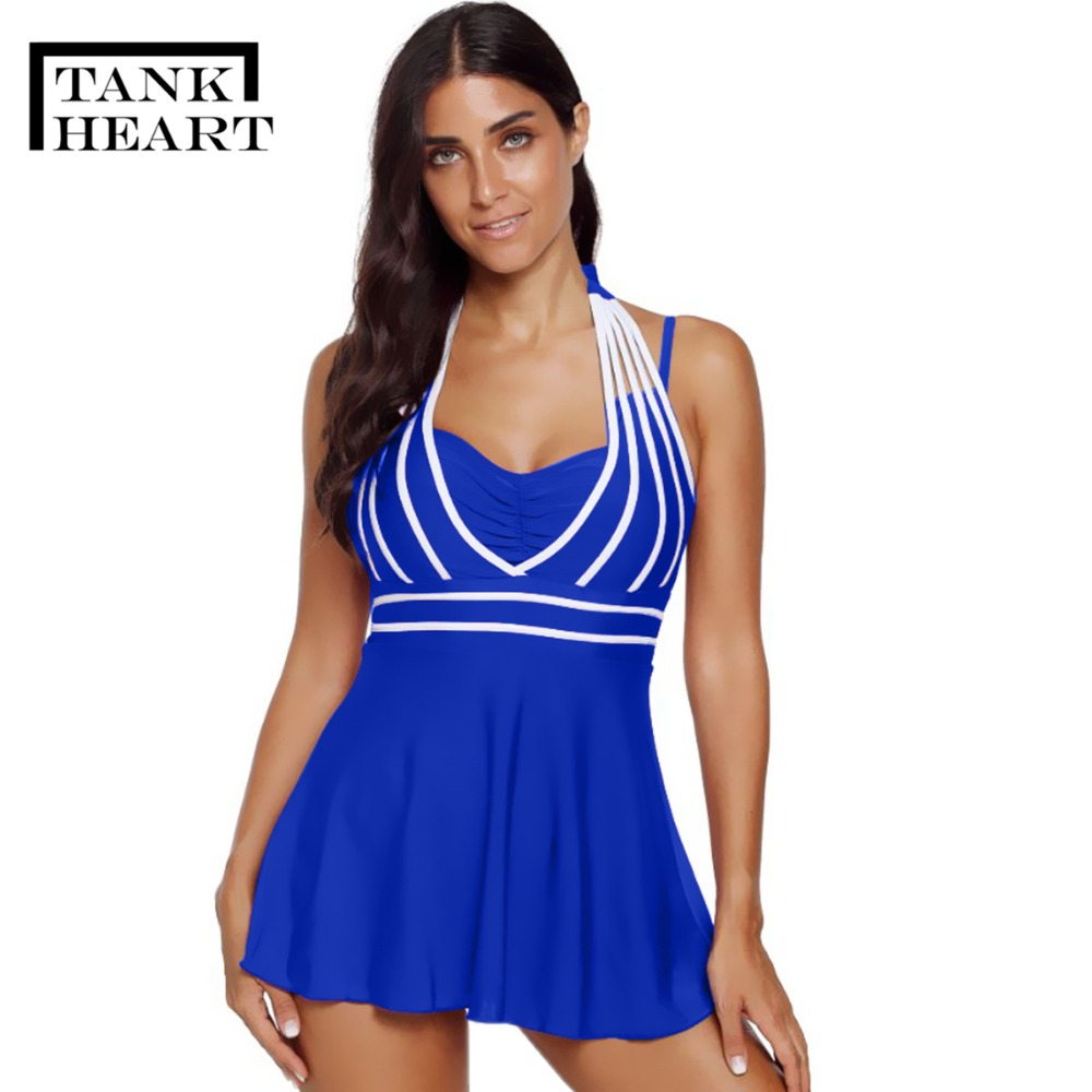 Sexy Biquini Plus Size Swimwear Tankini Swimsuits Women Two Piece Swimsuit With Shorts Swimdress Bikini Brazilian 5XL