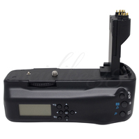 Meike MK 5DII LCD Screen Vertical Battery Grip Pack For Canon EOS 5D Mark II 5d2