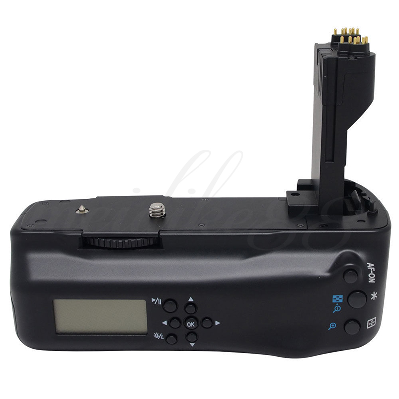 Meike MK-5DII LCD Screen Vertical Battery Grip Pack for Canon EOS 5D Mark II 5d2 BG-E6 Free Shipping shoot lp e6 7 2v 1800mah battery pack for canon eos 5d mark ii 7d 60d