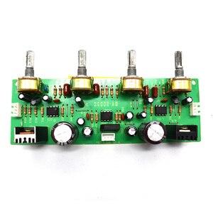 Image 3 - NE4558 Audio Vorverstärker Bord Höhen Bass Balance Einstellbar Audio Preamp Board Mit Ton Pre verstärker Control Dual A7 017