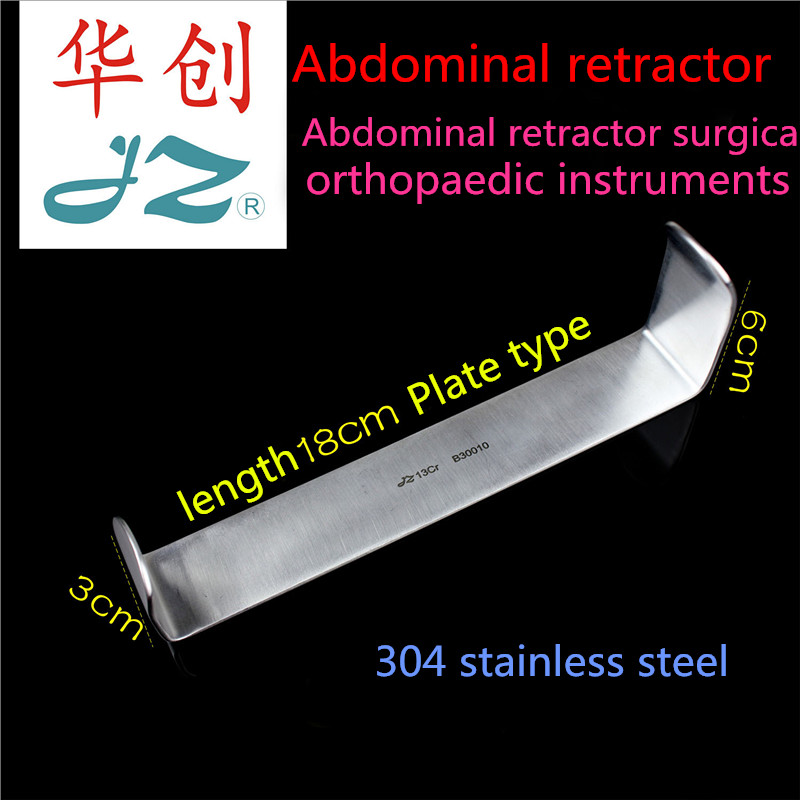 US $35 0 |JZ abdominal surgery Basic surgical instrument Medical double  headed abdominal wall cavity retractor deep abdominal Tissue hook-in Braces  &