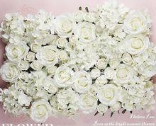12 cm diy 인공 장미 꽃 머리 실크 장식 꽃 슈퍼마켓 배경 diy 도로 led 웨딩 벽 꽃 꽃다발