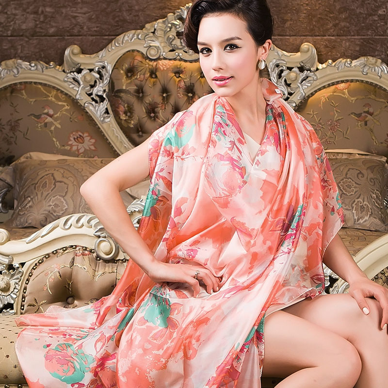 Fashion Women Silk Scarf Wrapss