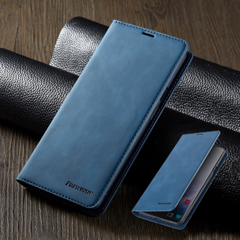 Magnetic Case For <font><b>Oneplus</b></font> 7 Pro Luxury Leather 1+7pro Wallet <font><b>Flip</b></font> 1+7 Card Holder For Oneplus7 Stand Bag Protector <font><b>Cover</b></font> Carcasa image