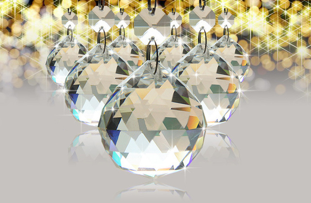 50mm clear crystal chandelier lamp bal raam suncatchers opknoping kerst ornament glas crystal prisma kristallen verlichting