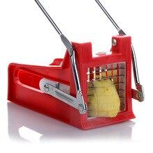 Нож для резки картофеля и овощей из нержавеющей стали Измельчитель чипы делая инструмент приспособление для нарезки резка картофеля дома Кухонные гаджеты