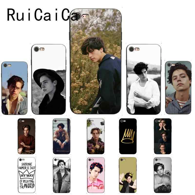 Ruicaica riverdale cole sprouse Jughead Jones Customer Coque Phone Case for iPhone 8 7 6 6S 6Plus X XS MAX 5 5S SE XR 10 Cover