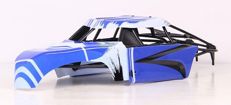 Juego de carcasa de cuerpo dividido para coche 1/5 Rc + caja de rollo de plástico para HPI Rovan Baja 5 T 5SC King Motor camión-in Partes y accesorios from Juguetes y pasatiempos    1